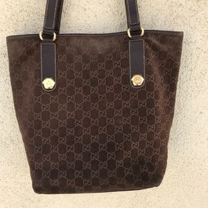 Gucci tote shoulder monogram bag